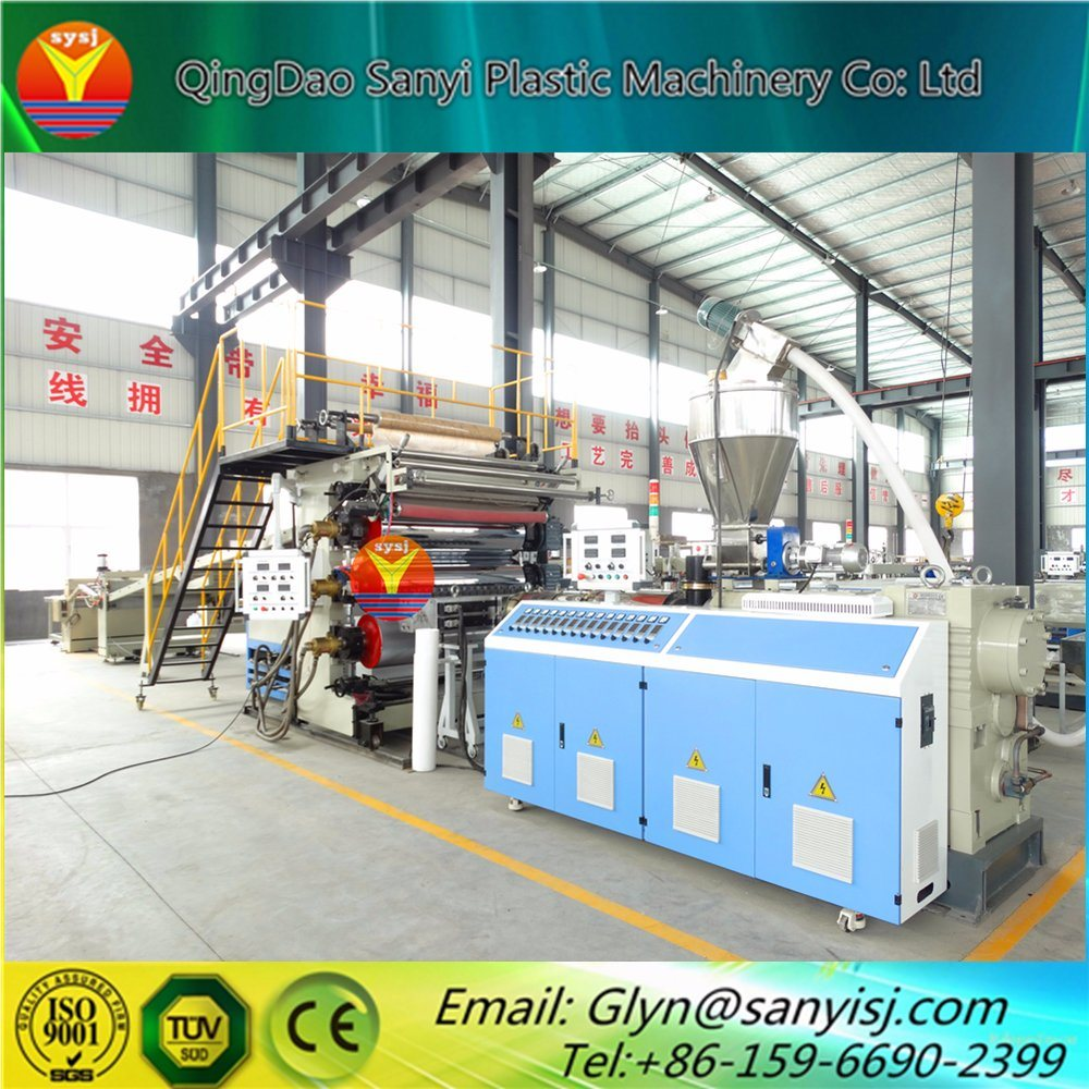 China Pvc Flooring Machine Wood Composite Wpc Floor Tile Making