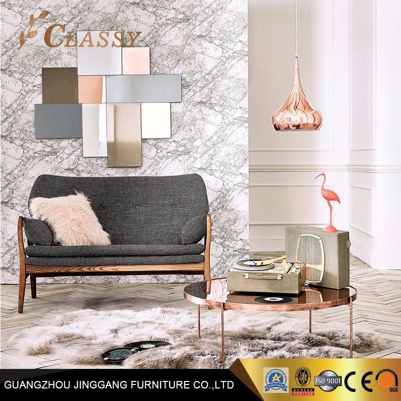 Brilliant Hot Item Rose Gold Metal Apartment Coffee Table Living Room Furniture Lamtechconsult Wood Chair Design Ideas Lamtechconsultcom