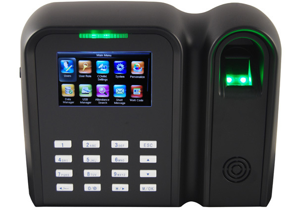 MIFARE Card Reader and Fingerprint Time Attendance (Qclear-C/MF)