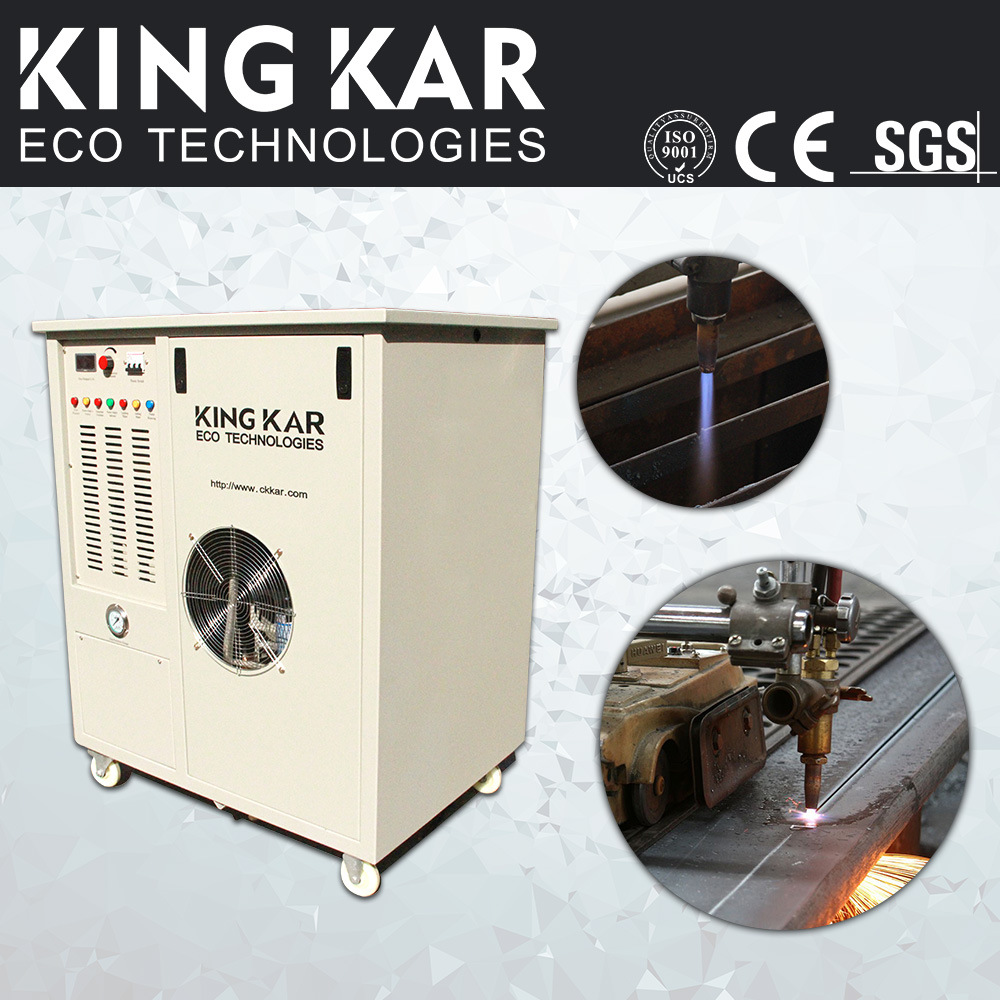 Oxy-Hydrogen Water Electrolysis Machine for Steel Cutting pictures & photos