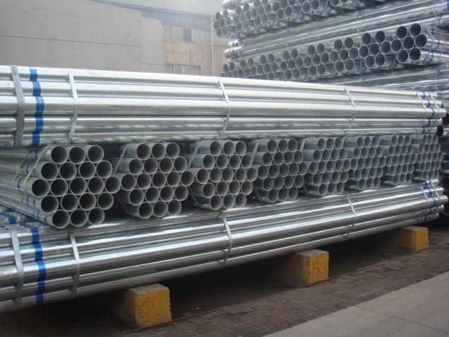 Galvanized Steel Pipe Hot DIP Gi/Galvanized ERW Pipe/Galvanized Round Tube pictures & photos