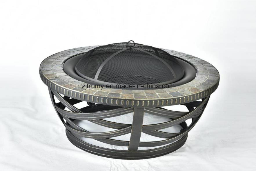 Deep Bowl Slate Fire Pit pictures & photos
