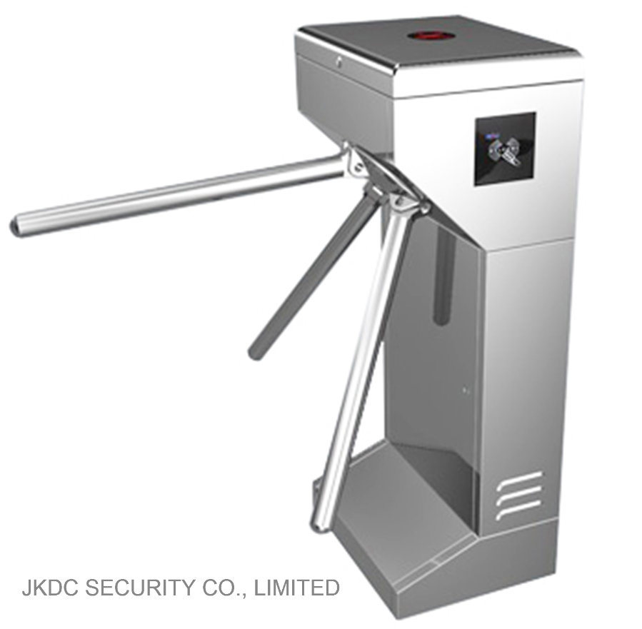 Public Security Access Control System with Upright Type Tripod Turnstile