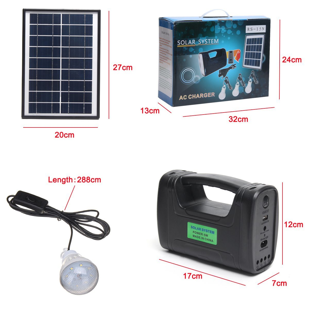 China 2018 solar panel generator light solar indoor light do it 2018 solar panel generator light solar indoor light do it yourself solar kit 3w 4w 5w solar light3pcs solar lamp solutioingenieria Gallery