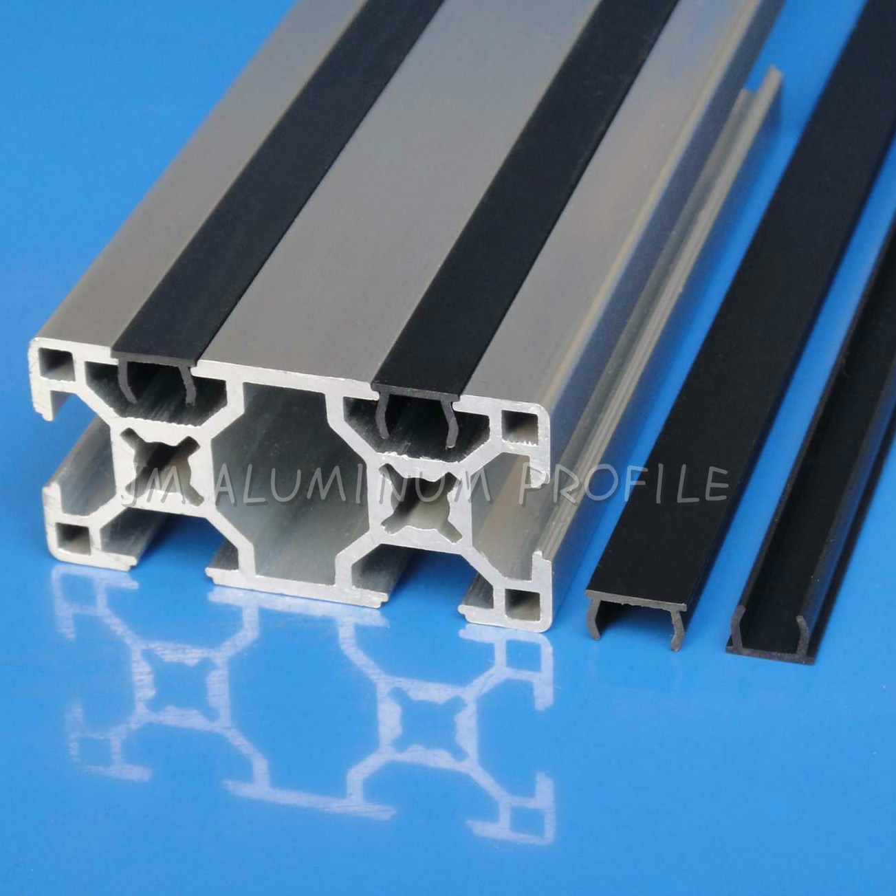 China T Slot Cover Strip Black Grey Pxc6 Pxc8 Pxc10 Groove 6 8 10