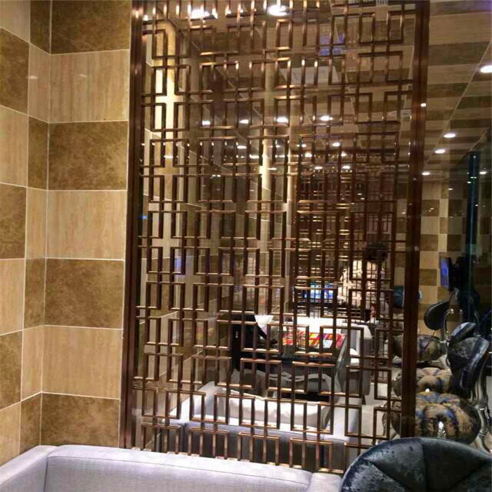 Modern Design High Quality Metal Decorative Room Screen TV Background Wall Screen Made in China pictures & photos