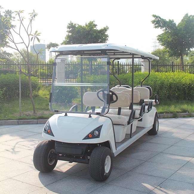 8 Seats Electric Golf Kart with Ce Certificate China (DG-C6+2) pictures & photos