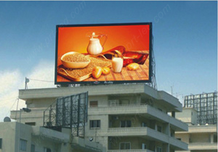High Brightness P10 LED Advertising Board with Good Waterproof pictures & photos
