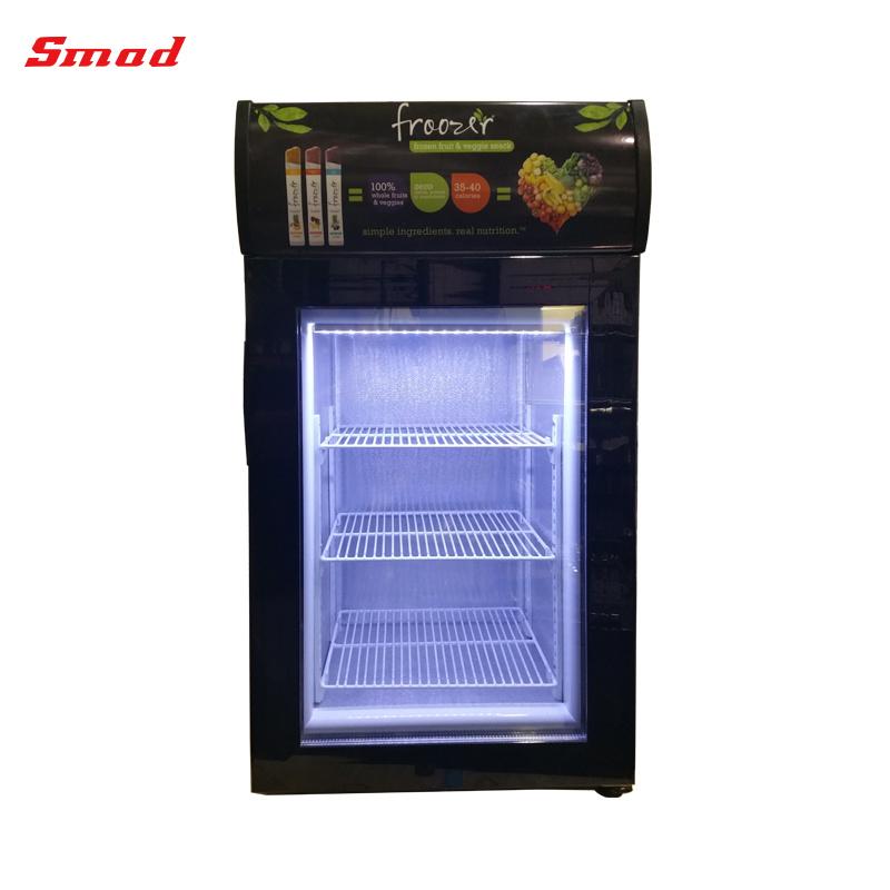 China Smad Single Glass Door Countertop Freezer Display