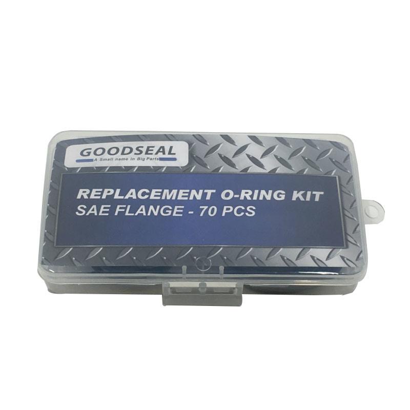 storage box 407pcs Rubber O-Ring Assortment Set Gasket Automotive Seal SAE Kit