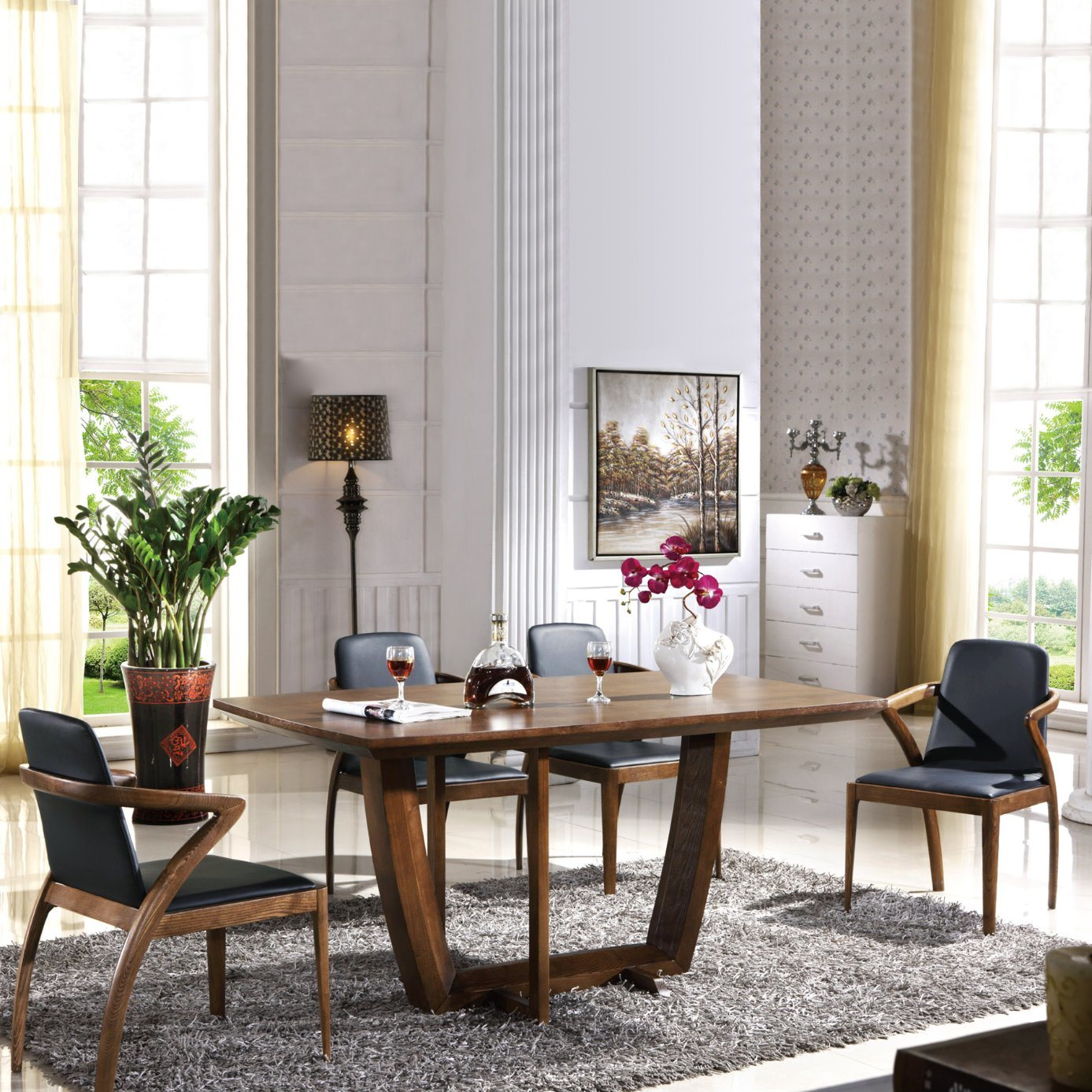 Kitchen Dining Table Set For 4 Person