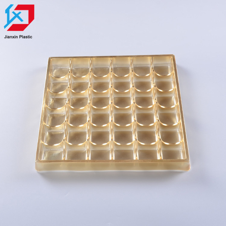 Customize Plastic Chocolate Packaging Blister Chocolate Insert Tray Chocolate Box Tray pictures & photos