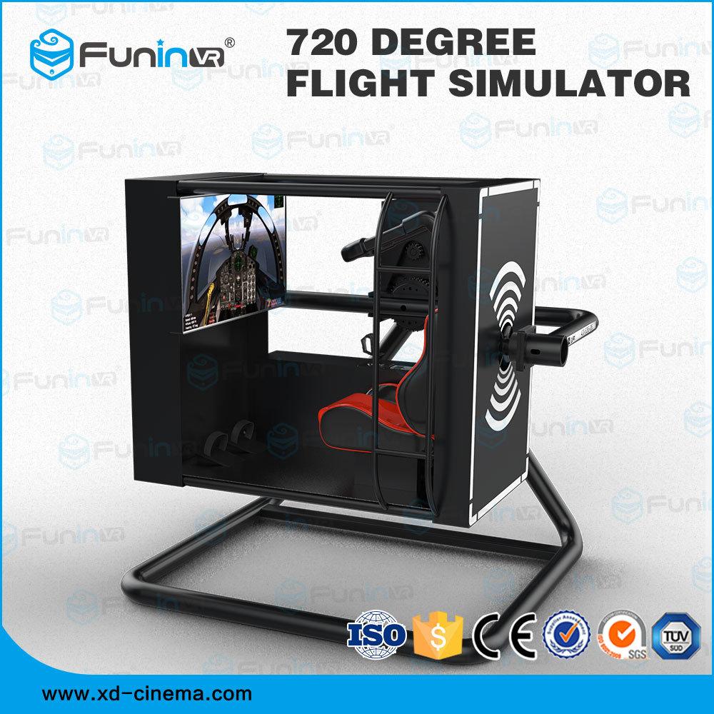 4D Max Cinema [hot item] 2019 most realistic flight experience vr simulator 4d 5d 7d 9d  cinema max 720 degree flight simulator