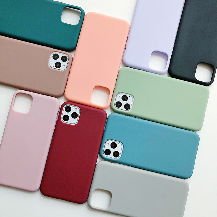 Matte Soft TPU Phone Case for iPhone 11 /11PRO /11 PRO Max pictures & photos
