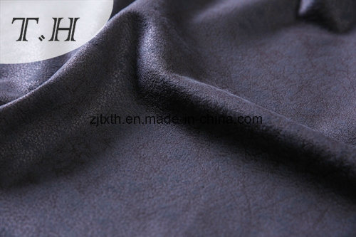 Hot Stamping and Print Suede Fabric Sofa Fabric pictures & photos