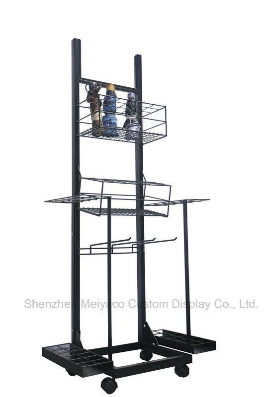 China New Design Movable Portable Detachable Umbrella Display Rack ...