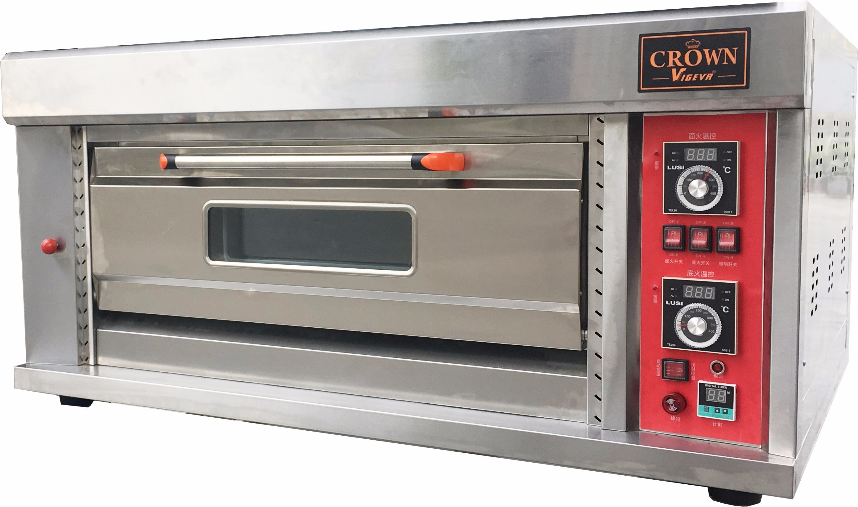 China Astar New Crown B Series Hgb 102q 1 Deck 2 Trays Gas Oven Bakery Equipment Baking Machine Commercial Pizza