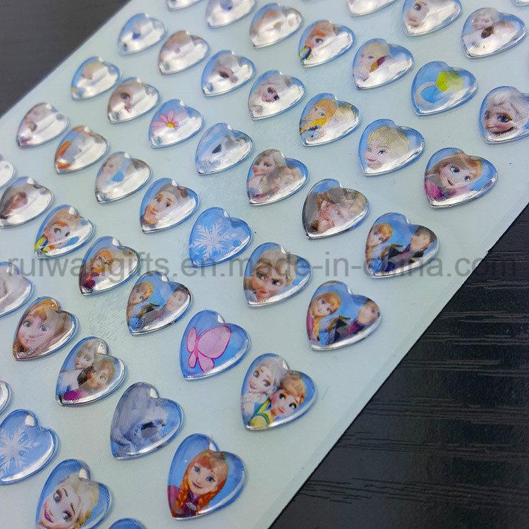 Crystal Stickers Cartoon Reward Head Earring Jewellery Diamond Car Decoration