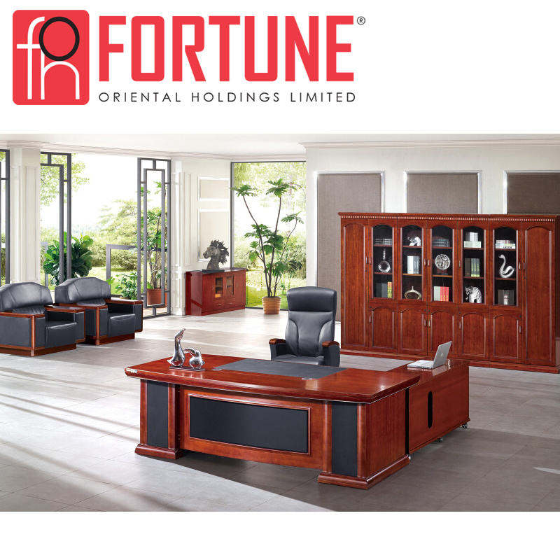China Mdf Luxury High Tech Classic Office Desk Table Foh A69242