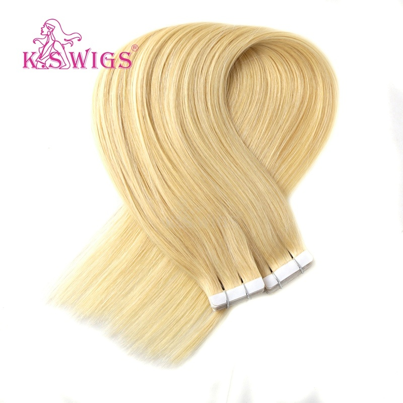 K. S Wigs Good Quality New Arrival Tape Hair Extension 100% Human Hair 60# pictures & photos