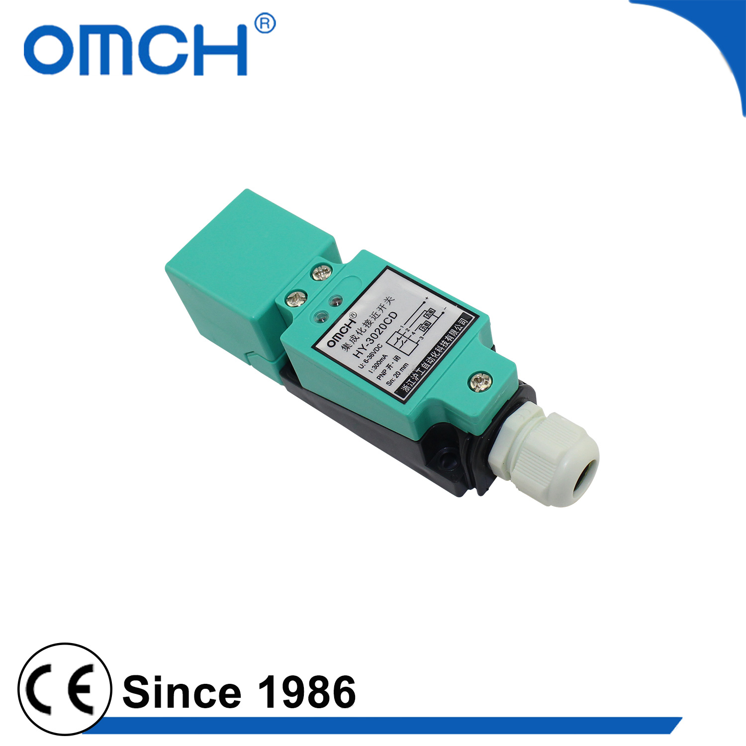 China Omch Square Hy Series Approach Switch Inductive Proximity ...