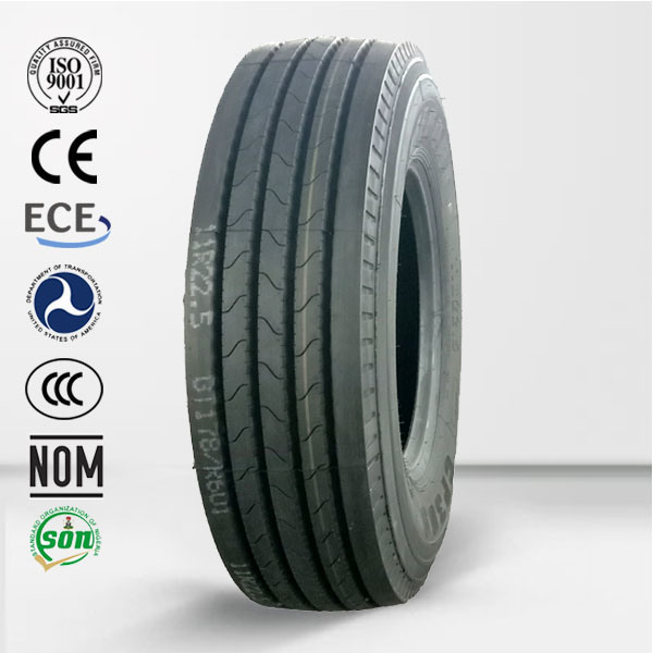 New Rubber Pneumatic Truck Tires Llantas 11r24.5