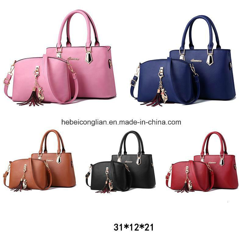 China Wholesale Luxury Handbags Set Bags Ladies 2 Pieces Set Handbag ... 72fa31f69b198