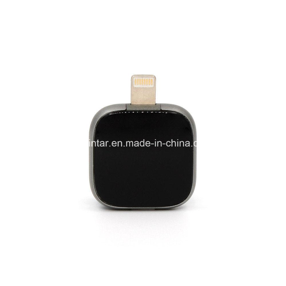 China Metal Square Usb Flash Disk Otg Phone Stick Mini Drive For Ipad And Iphone