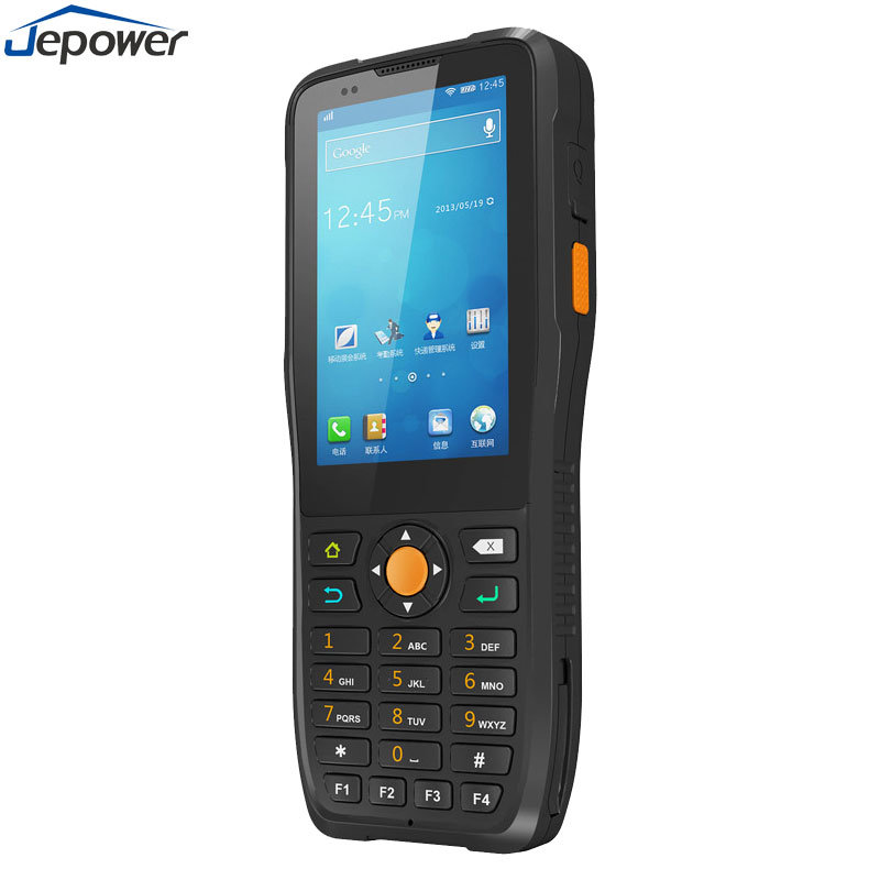 [Hot Item] Free Sdk NFC RFID Reader Hand Held PDA 1d 2D Barcode Warehouse  Inventory Scanner Device