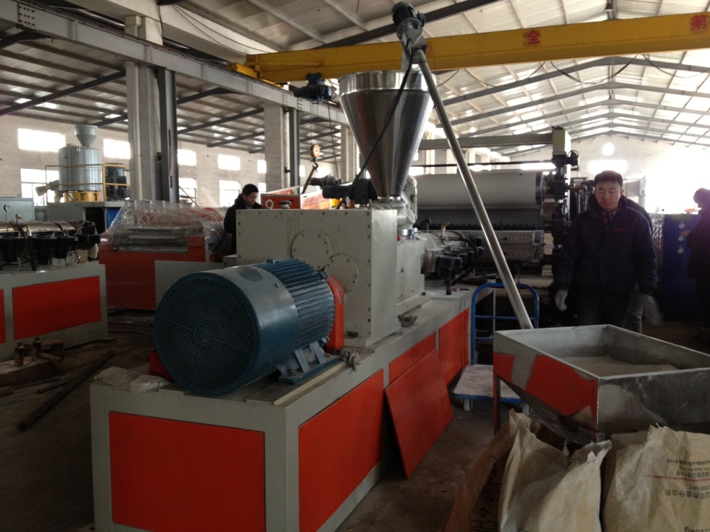 PVC Sheet Board Extrusion Line, Extruding Machine, Plastic Machinery pictures & photos