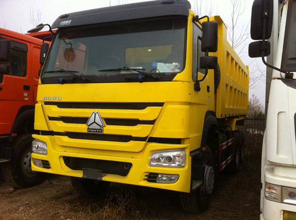 Low Price HOWO 336HP 10 Wheels Tipper Truck pictures & photos