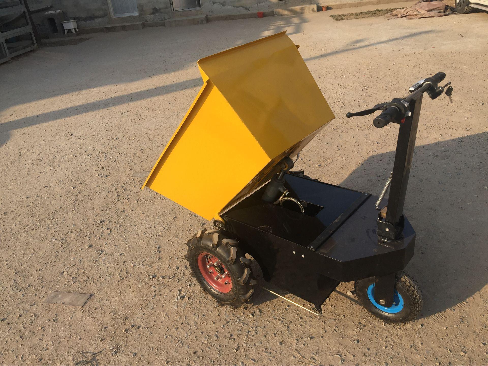 China 3wheels Mini Electronic Manual/Hydraulic Dumper /Loader /Truck -  China Electric Dumper, Agriculture Truck