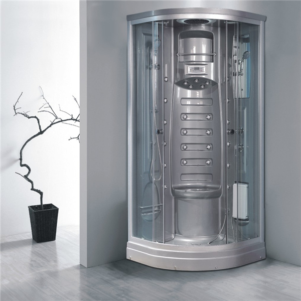 Chinese Round Aluminum Sliding Shower Enclosure for Sale pictures & photos