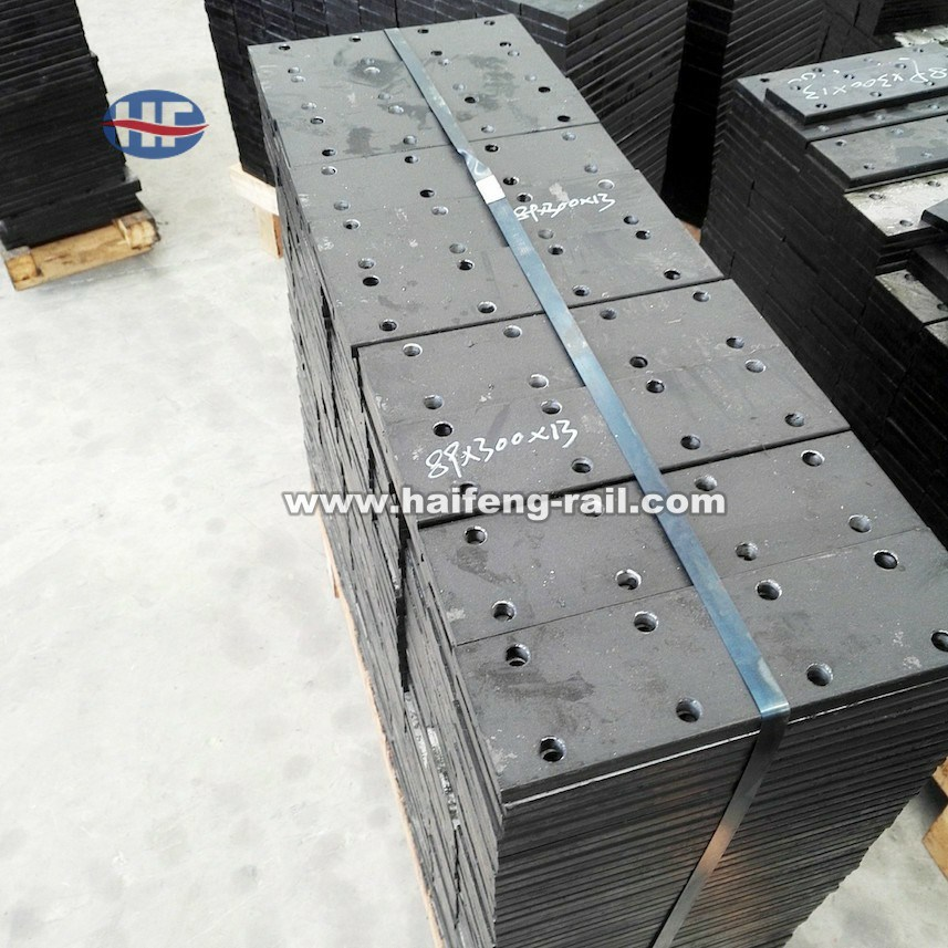 Rail Fishplate for Passenger Elevator Machined Guide Rail
