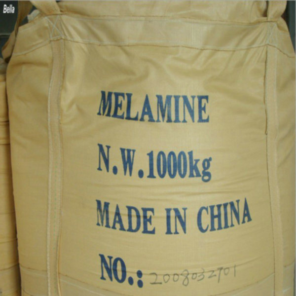 Industrial Grade White Crystalline Powder Melamine 99.8%