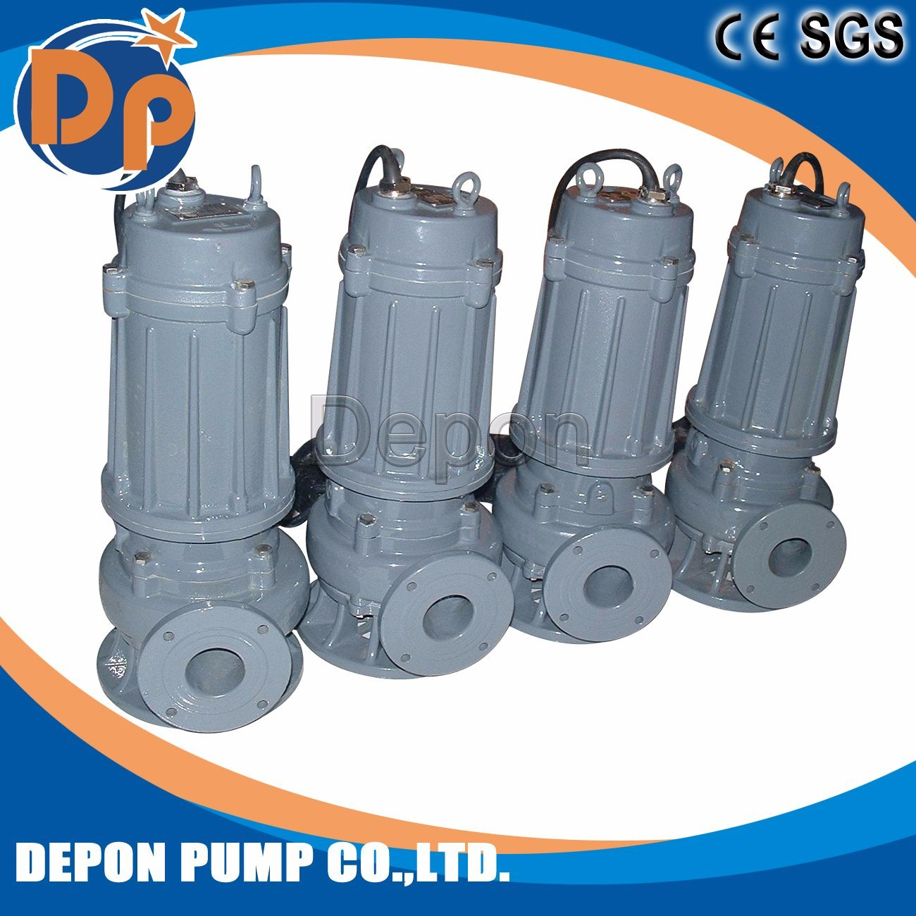 Top Sale High Quality Portable Submersible Sewage Pump Price List pictures & photos