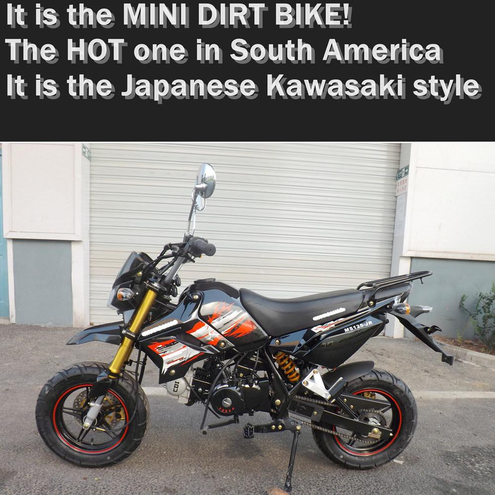 China Japanese Style Kawasaki Mini Pit Bike Motorcross