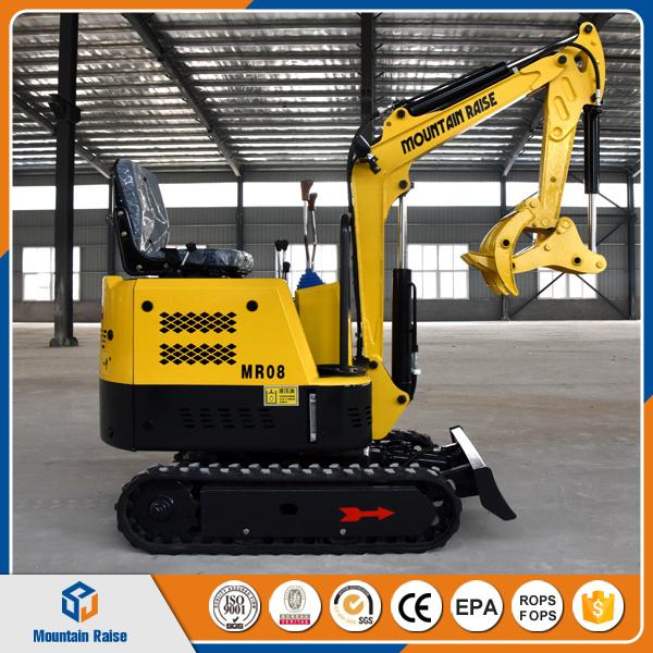 Fabelhaft Cheap Mini Excavator 800kg China Mini Bagger for Greenhouse &TH_73