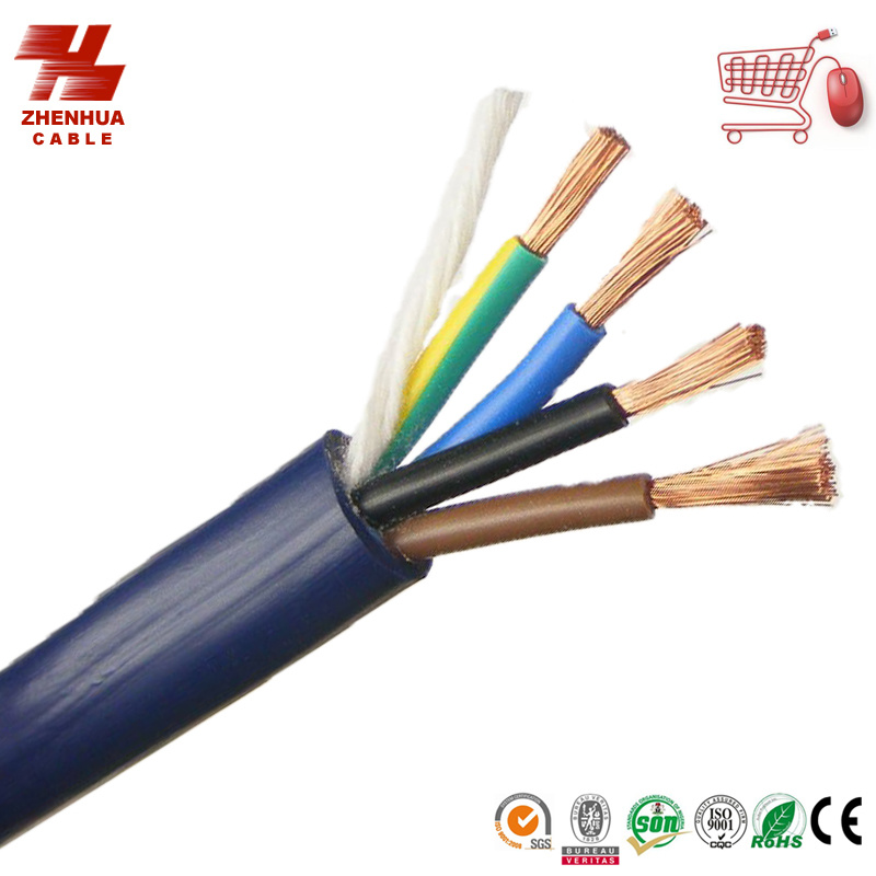 China IEC60227 Cable 4core 1.5mm Flexible Copper Electrical Cable ...