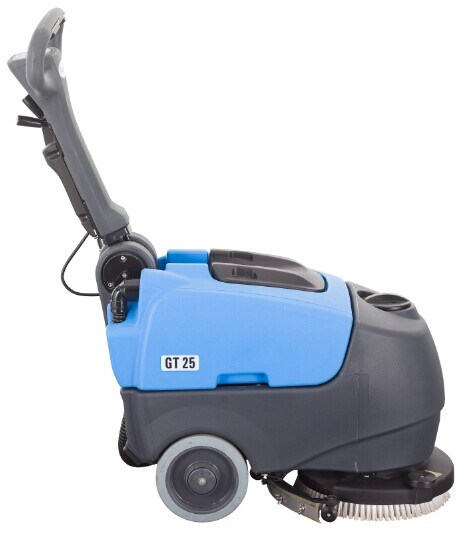 Automatic Compact Foldable Walk-Behind Cleaning Machine Scrubber Dryer with Battery
