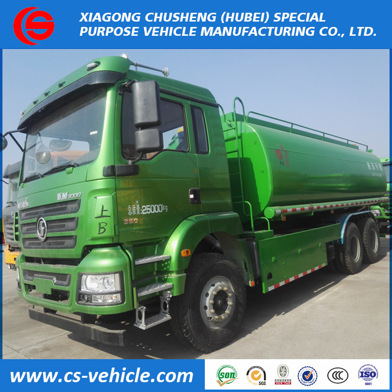Shacman M3000 6X4 20m3 20000L Gasoline/Oil/Fuel Tanker Truck pictures & photos