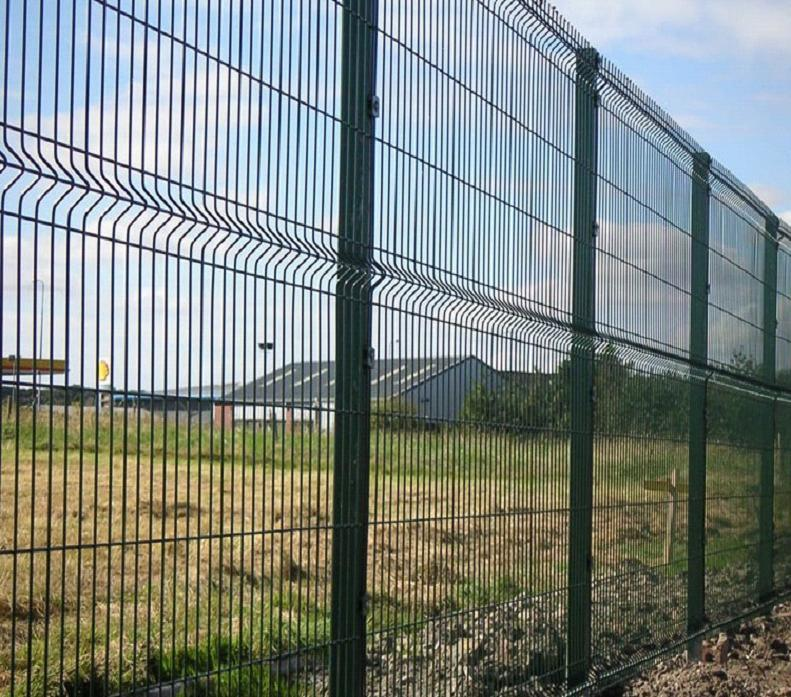 China PVC Coated Nylofor 3D Fence Panel/Welded Mesh Fence/Wire Mesh ...