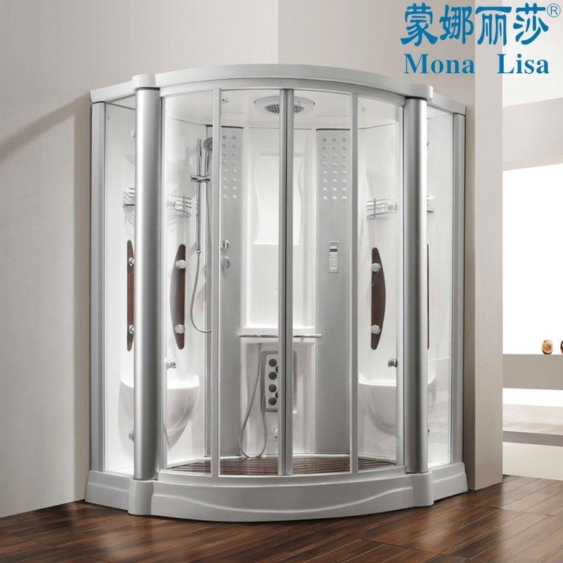 China Fiberglass Resin Steam Shower Cabinet or Computerized Steam ...