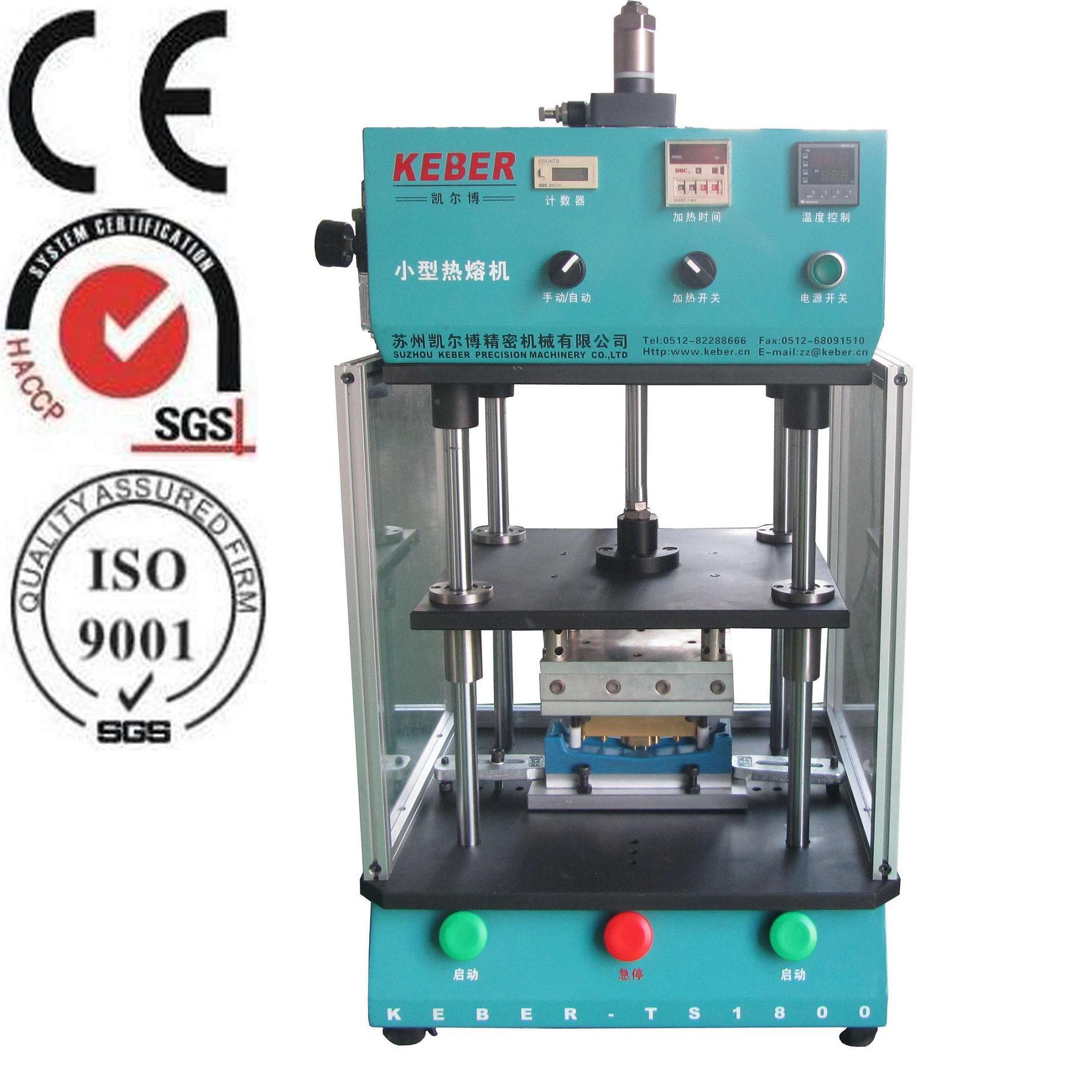 China Keber Hot Melting Welding Equipment For Plastic