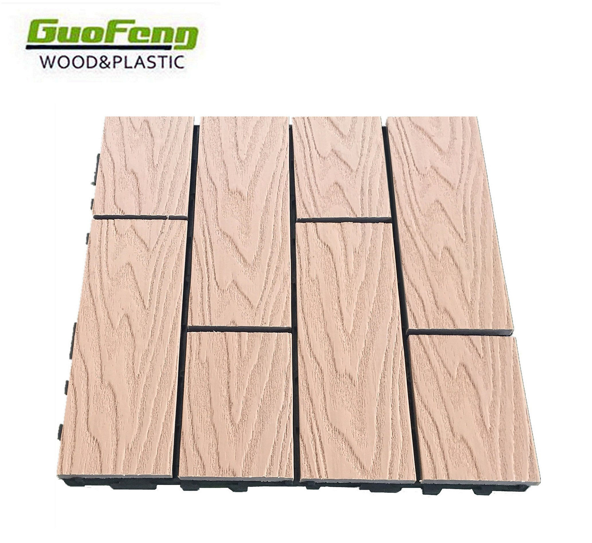 China Wpc Floor Tile 300300mm Outside Easy Install Photos