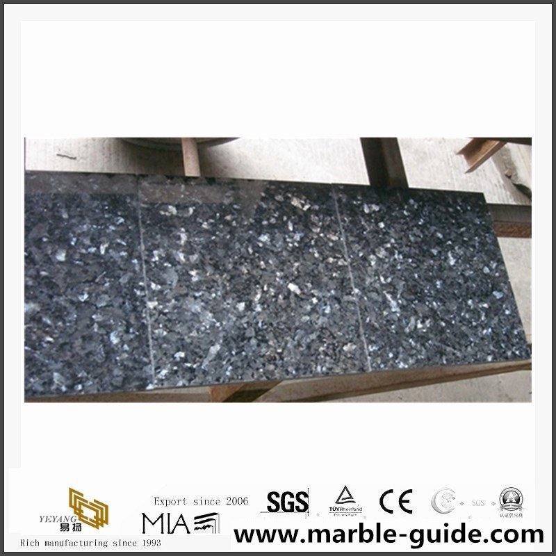 China Natural Stone Blue Pearl Granite Tiles For Flooring Steps Stairs