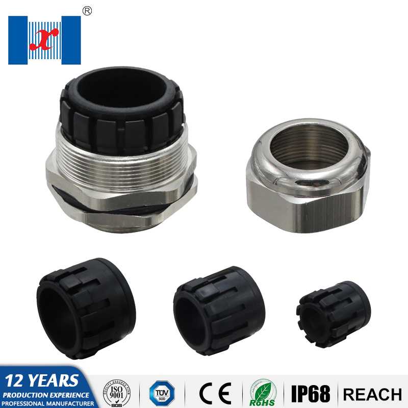 1dafeffcbb China Hnx Mg Series Free Sample Ce Waterproof IP68 Metal Cable Gland ...