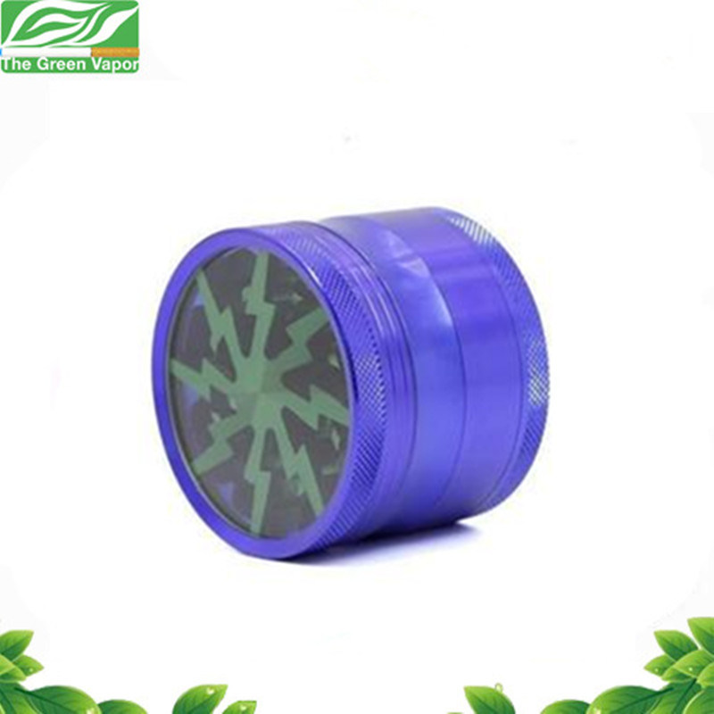 China Wholesale 4 Pieces Flash Thunder Spice Grinder Herb