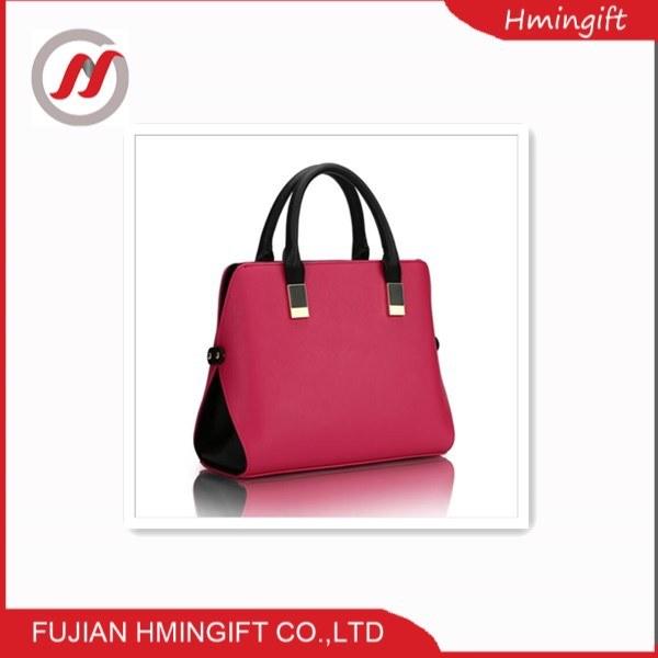 7d6ca415d42 China Print Leather Handbag Boston Bag with Stud Lady Purse - China Hand  Bags