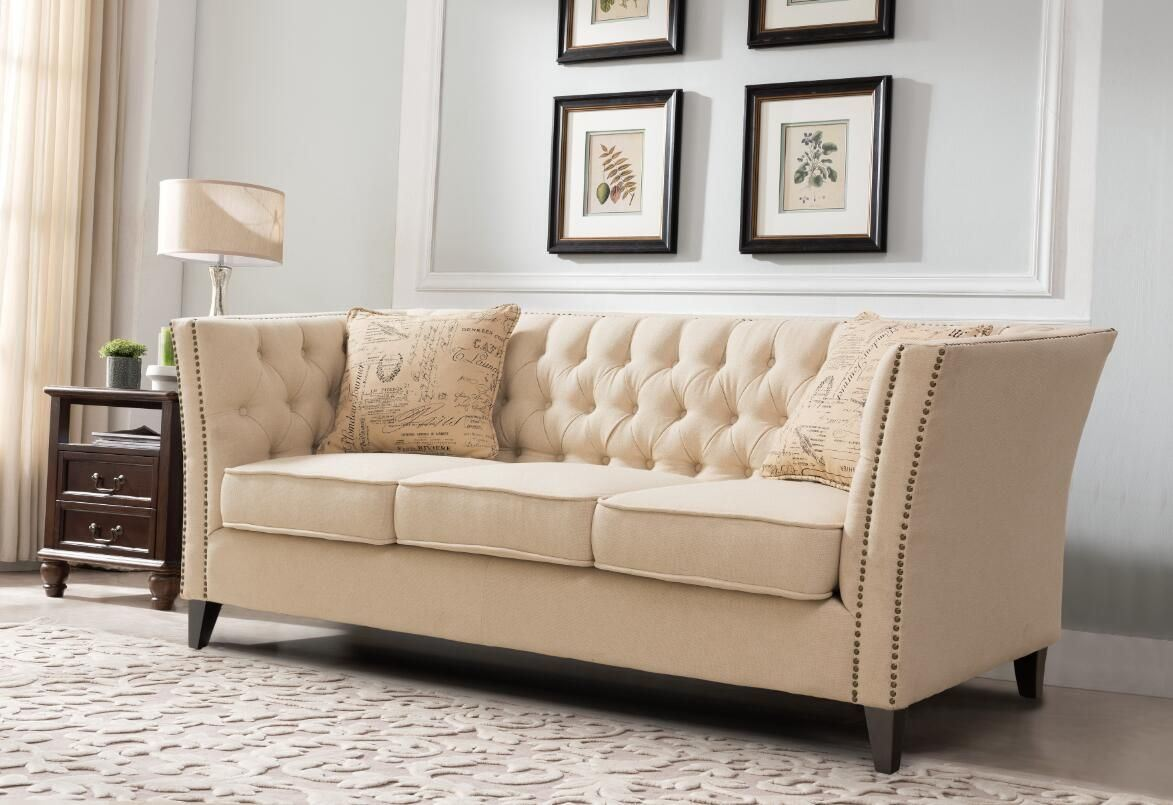 [Hot Item] Living Room Furniture Fabric Modern Sofa Set